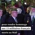 À Pau, émotion et recueillement lors d'un hommage aux 13 militaires morts au Mali
