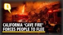 California 'Cave Fire' Spreads Across 4,200 Acres, Threatens Lives