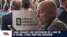 Dopage : L'Euro 2020 pas concerné par la sanction contre la Russie