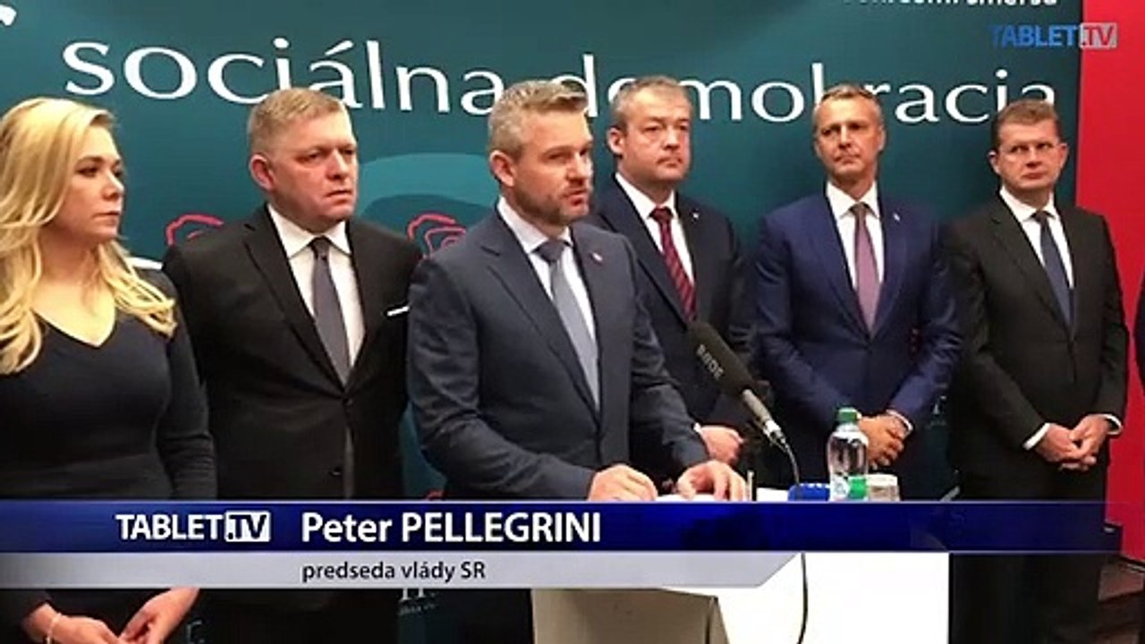 ZÁZNAM: TK strany Smer - sociálna demokracia