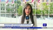 Reacciones ante nuevos magistrados - Nex Noticias