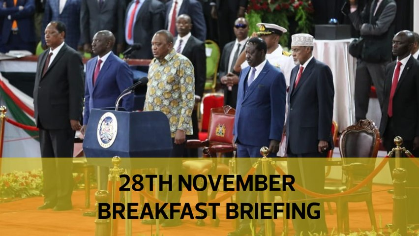 Show of unity at BBI launch| Maribe was with Sonko | Uhuru gets wage bill cut plan: Your Breakfast Briefing