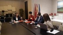 María Chivite se reúne con Navarra Suma sobre Presupuestos