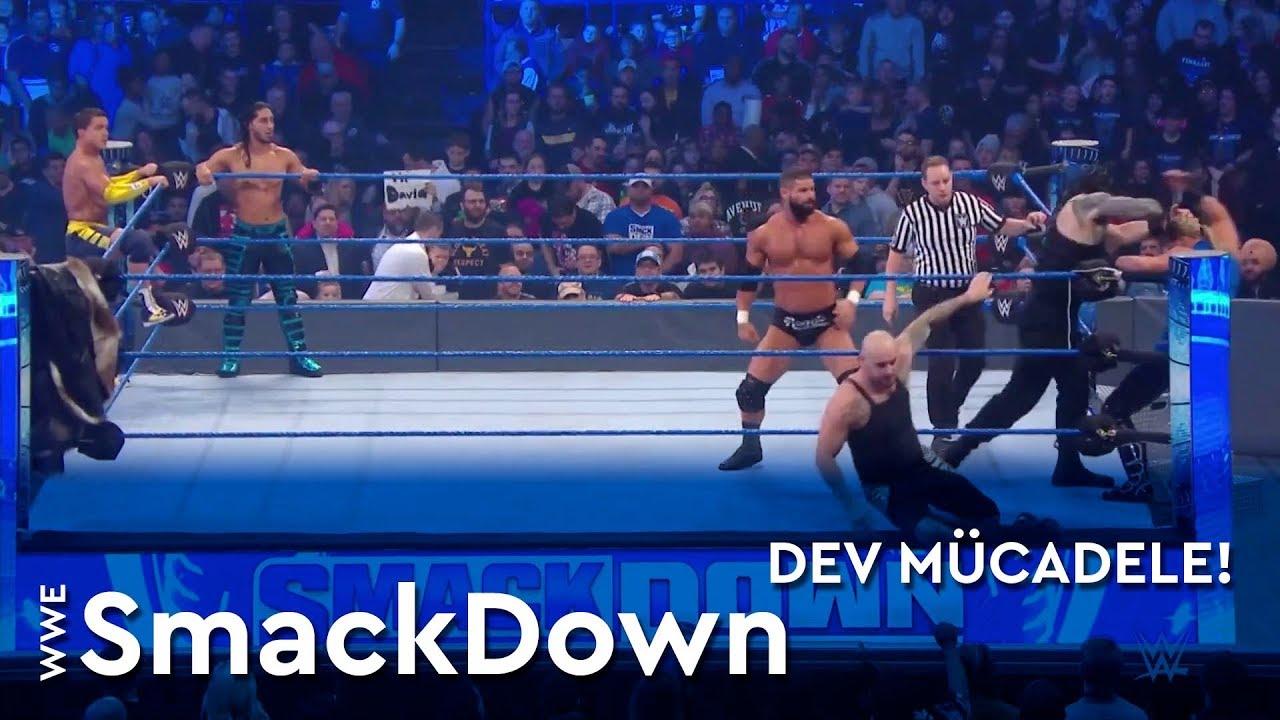 WWE SmackDown | Dev Mücadele! (Türkçe Anlatım)