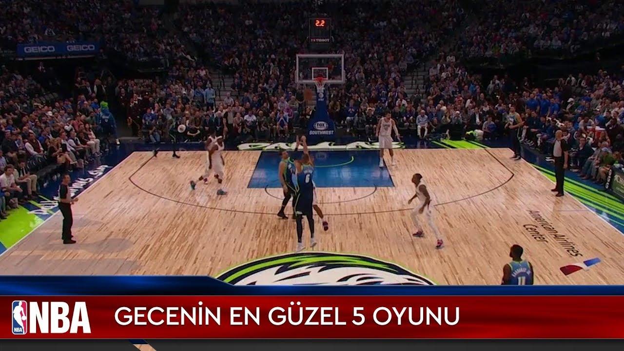 NBA'de Gecenin En Güzel 5 Oyunu | 26.11.2019