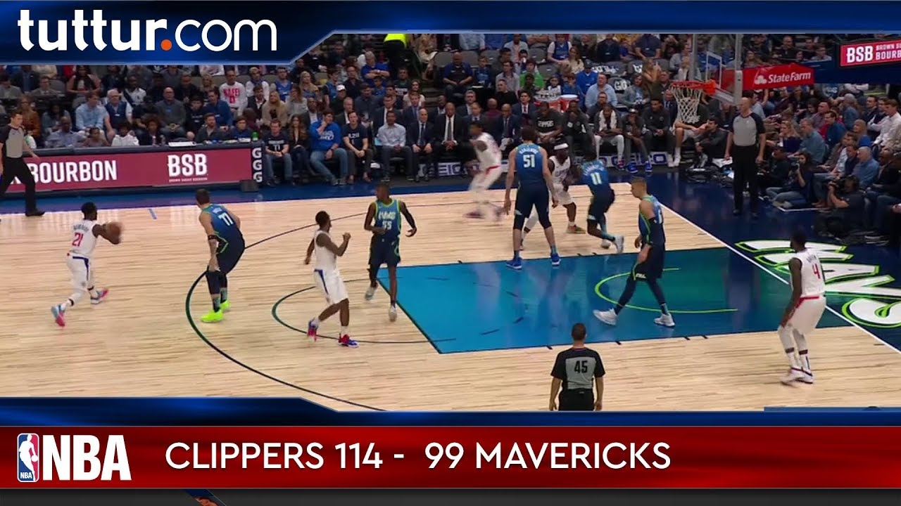 LA Clippers 114 - 99 Dallas Mavericks