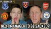 Fan TV | Who will be the next Premier League manager to be sacked?