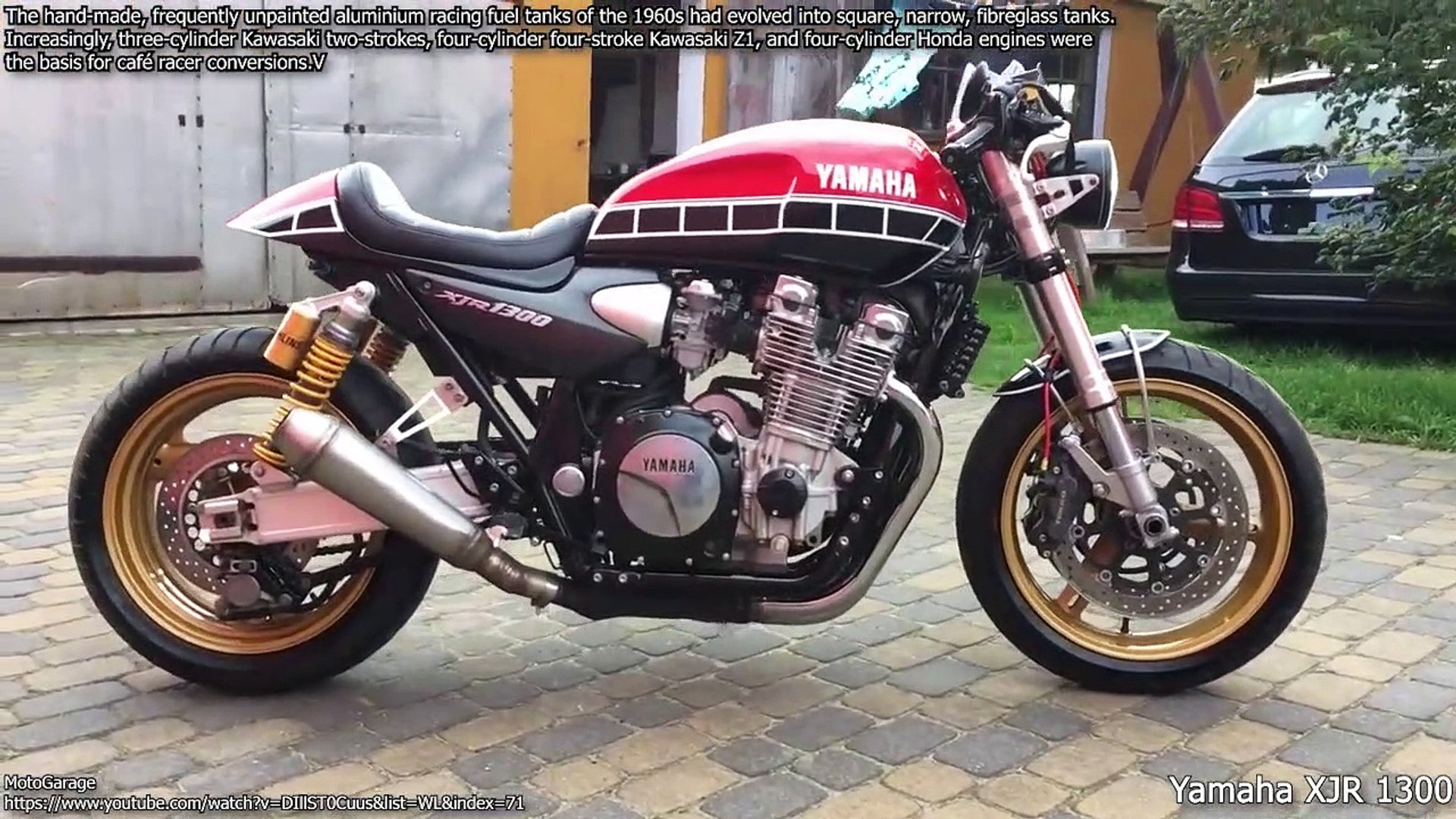 Cafe Racer Motorbikes Cold Start Up And Perfect Exhaust Sound Dailymotion Video