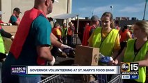 Thousands arrive at St. Mary's Food Bank to get Thanksgiving help