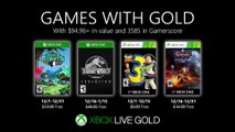 Xbox Games with Gold (December 2019)