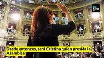 Traspaso de mando: Cristina le tomará juramento a Alberto y Macri le colocará la banda. Te contamos todas las claves con este #video