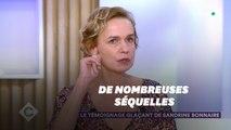 Émue, Sandrine Bonnaire évoque les séquelles qui lui restent 20 ans après son agression par son compagnon