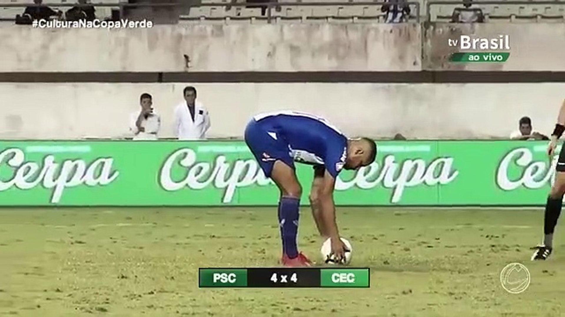 O penalty mais ridículo numa final que daria o título de Campeão!