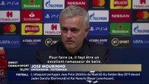 Le ramasseur de balles de Tottenham félicité par Mourinho