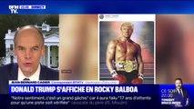 Pourquoi Donald Trump a-t-il mis en ligne un photomontage de lui en Rocky Balboa ?