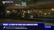 Agriculteurs: les tracteurs lèvent le blocage et libèrent le périphérique parisien