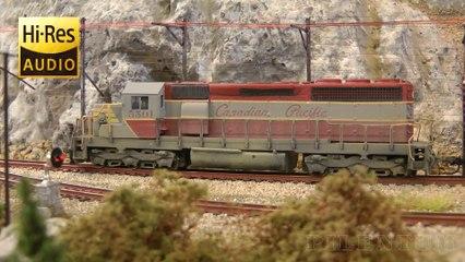 Trains miniatures au Canada: Locomotives et trains de marchandises - Une vidéo de Pilentum Télévision - Modélisme ferroviaire, trains miniatures, maquettisme et chemin de fer