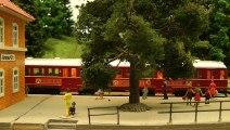 Trains miniatures dans un village allemand - Modélisme ferroviaire à l'échelle H0 - Une vidéo de Pilentum Télévision - Modélisme ferroviaire, trains miniatures, maquettisme et chemin de fer