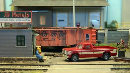 Réseau ferroviaire américain à l'échelle H0 de Fredy Coenen - Une vidéo de Pilentum Télévision - Modélisme ferroviaire, trains miniatures, maquettisme et chemin de fer