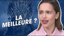 Emilia Clarke juge la saison 8 de Game of Thrones