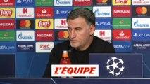 Galtier « L'Ajax nous était supérieure » - Foot - C1 - Lille