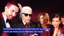 Kim Kardashian West fue ignorada por Karl Lagerfeld