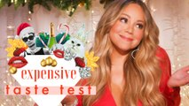 Mariah Carey Doesn't Have Time for Cheap Christmas Decorations | Expensive Taste Test
