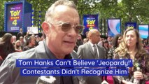 Tom Hanks And Jeopardy Contestants