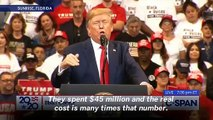 Trump Florida Rally Crowd Chants 'Bulls**t' As President Claims 'Maniacs Are Pushing Deranged Impeachment'