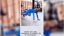 Carla Pereyra anima a sus seguidores a hacer ejercicio