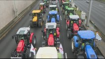Protesting French farmers roll out up to 1,000 tractors in Paris