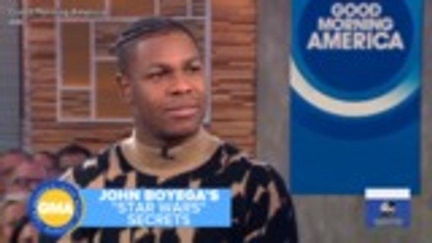 John Boyega Confesses His 'Star Wars: Rise of Skywalker' Script Ended Up on eBay | THR News