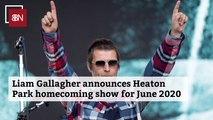 Liam Gallagher's 2020 Heaton Park Homecoming Show