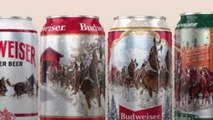 Budweiser Releases 4 Limited-Edition Cans for the Holidays