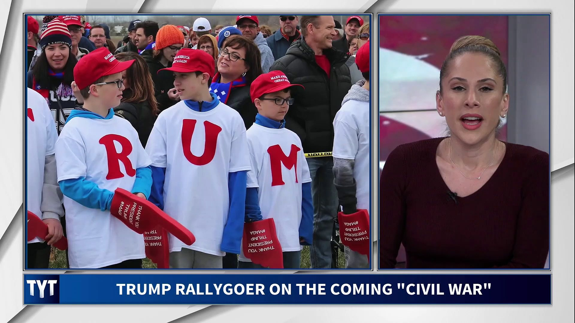 Trump Supporter Warns Of Coming Civil War