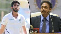 MSK Prasad Reveals How Jasprit Bumrah Was Selected For Tests || Oneindia Telugu