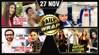 Priyanka's Gift To Nick, Taimur Kareena Turn Chef, Kareena Rejected Saif's Proposal | Top 10 News