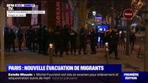 Une nouvelle évacuation d'un camp de migrants en cours près de Paris