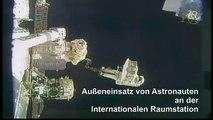Außeneinsatz von ISS-Astronauten für Reparaturarbeiten