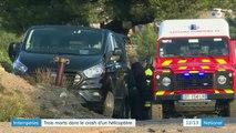 Intempéries : trois secouristes périssent dans un crash d'hélicoptère
