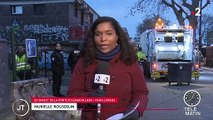 Paris : un camp de migrants évacué porte d'Aubervilliers