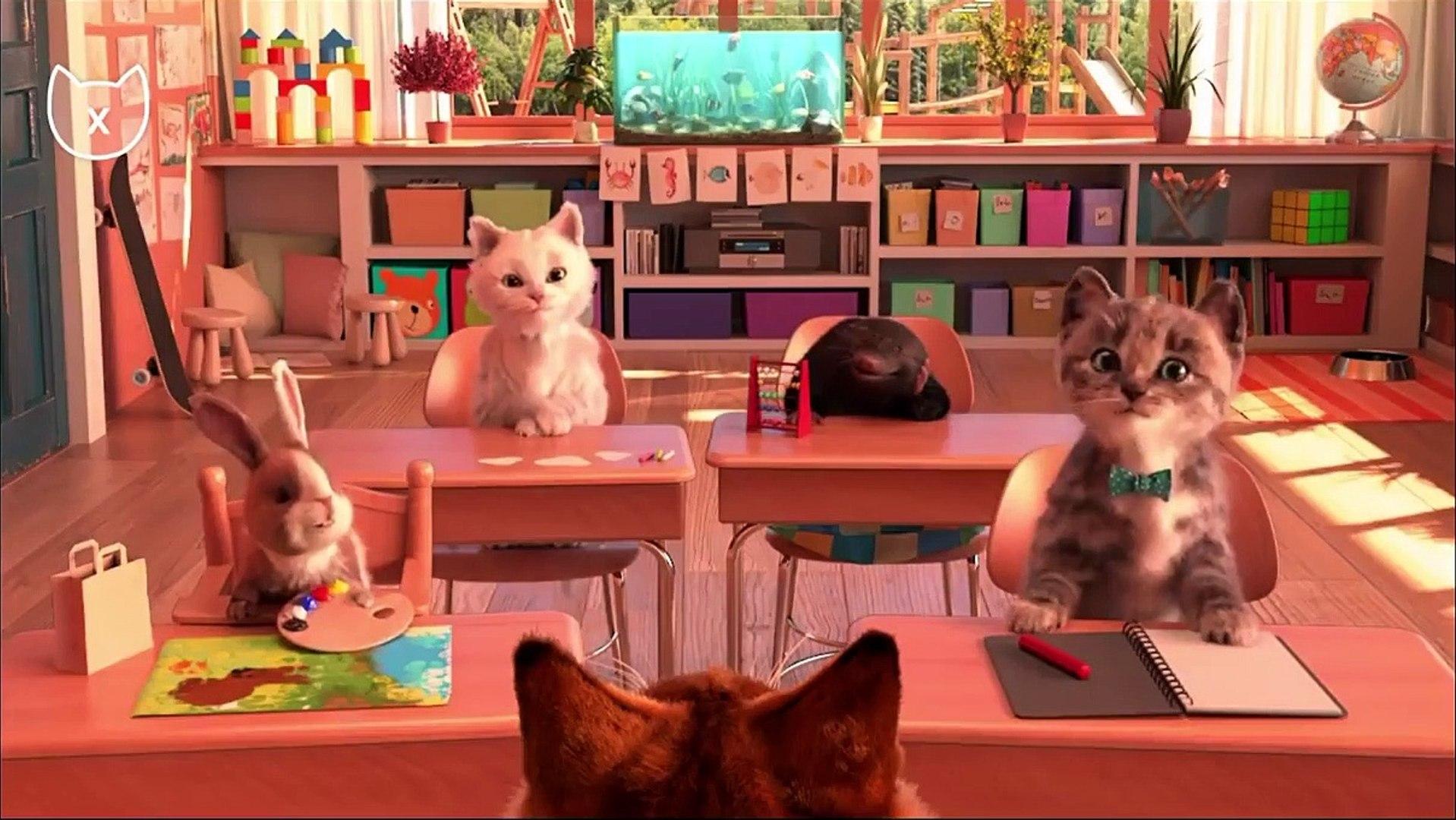 Little Kitten Preschool Kids Game Play Fun Early Learning Education For Kids Children Toddlers