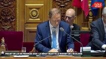Projet de loi de Finance 2020 : le Sénat rejette le budget de l'écologie - Les matins du Sénat (28/11/2019)