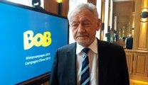 La campagne Bob lancée par le ministre de la mobilité François Bellot