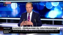Eric Zemmour VS Jean-Christophe Lagarde (président de l'UDI) sur L'Europe (Face à l'info 27_11_2019)