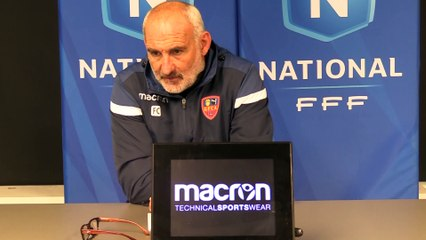 J15 - le point presse du coach F. Ciccolini avant le déplacement à Créteil !