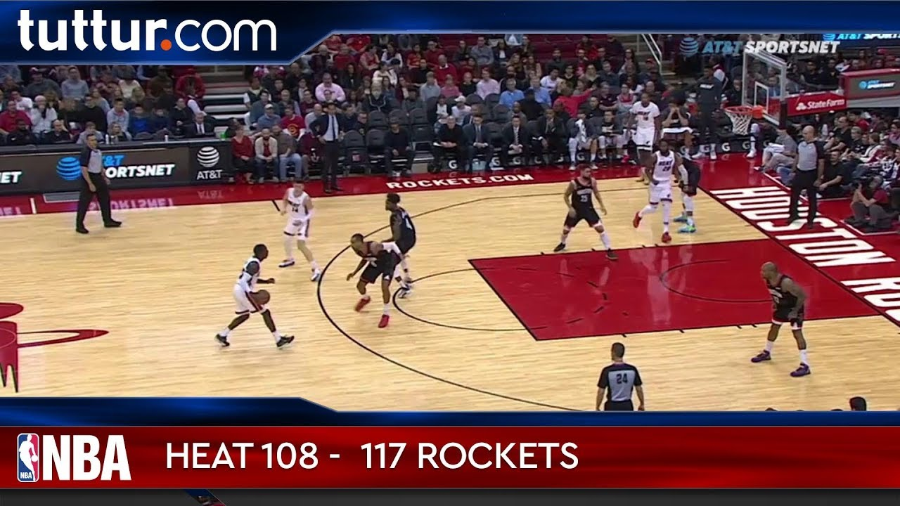 Miami Heat 108 - 117 Houston Rockets