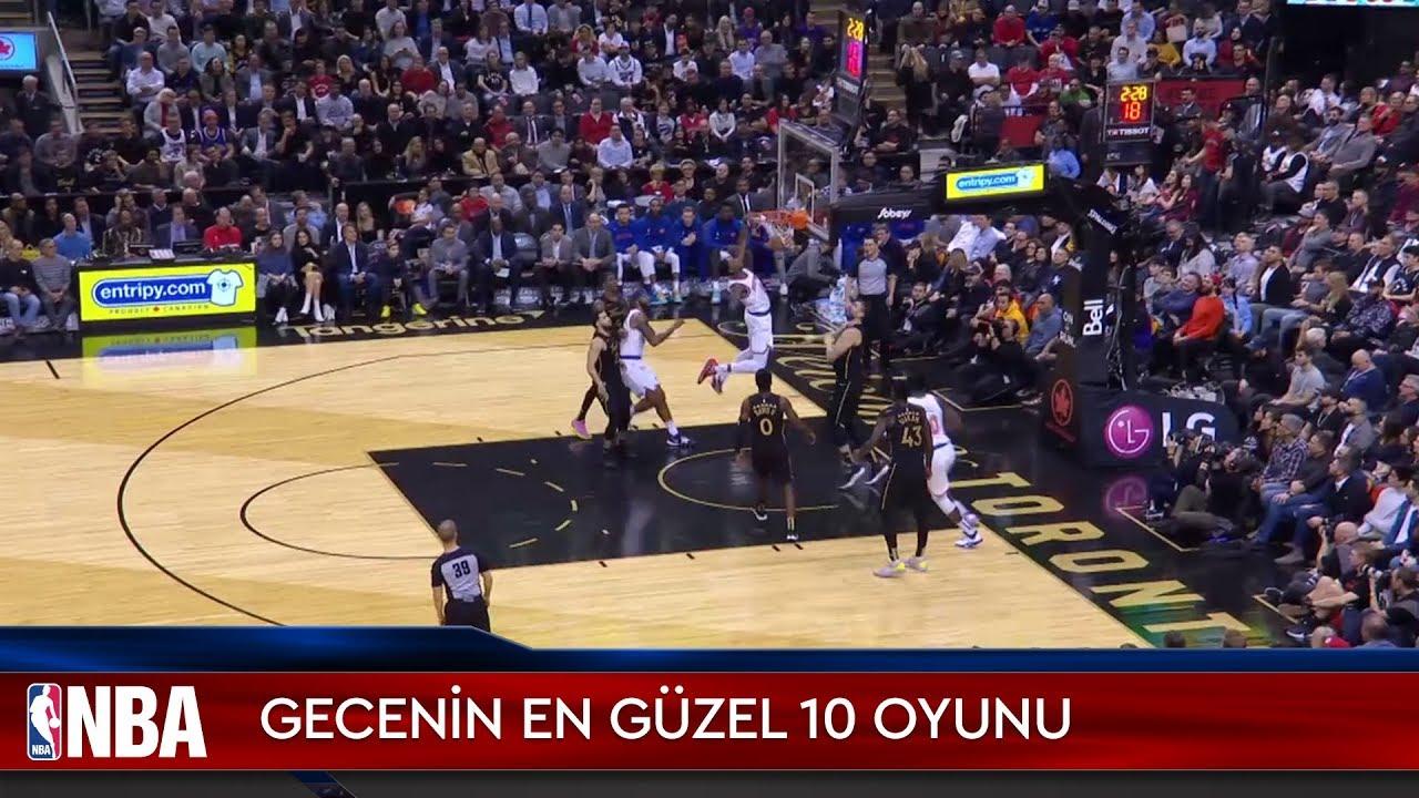NBA'de Gecenin En Güzel 10 Oyunu | 27.11.2019