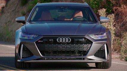 Audi RS 6 Exterior Design in Daytona Grey