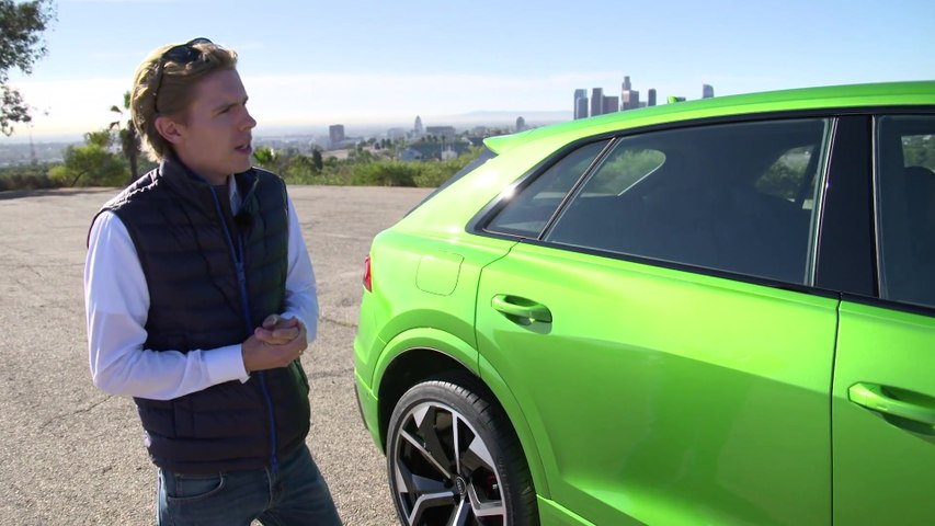 The all-new Audi RS Q8 Review in Los Angeles